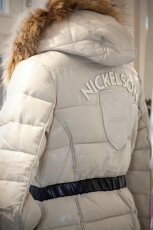 Steppjacke in beige von Nickolson